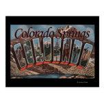 Colorado Springs, Colorado - escenas grandes de la Tarjeta Postal