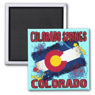 Colorado Springs, Colorado Magnet