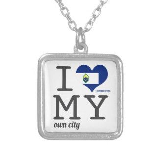 Colorado Springs   Colorado Personalized Necklace