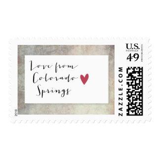 Colorado Springs, Colorado Postage