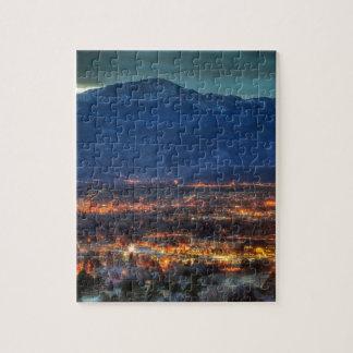 Colorado Springs Lights Jigsaw Puzzle