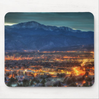 Colorado Springs Lights Mouse Pad