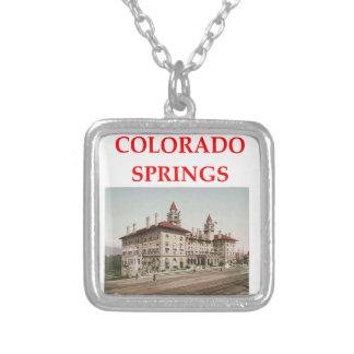 colorado springs personalized necklace