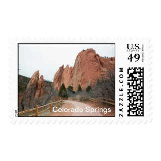 Colorado Springs Postage