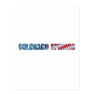 Colorado Springs Postcard