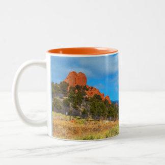 Colorado Springs Two-Tone Coffee Mug