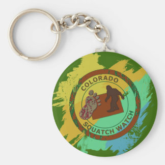 Colorado Squatch Watch Keychain