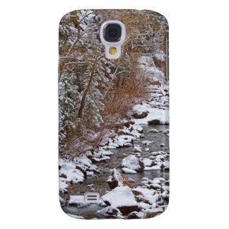 Colorado St Vrian Winter Scenic Landscape View Galaxy S4 Cover
