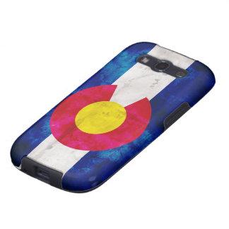 Colorado-Staats-Flagge Galaxy S3 Funda