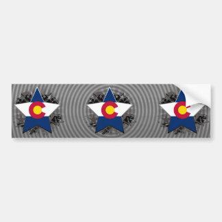 Colorado Star Bumper Sticker