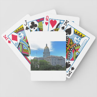Colorado State Capitol Building Bicycle Playing Cards