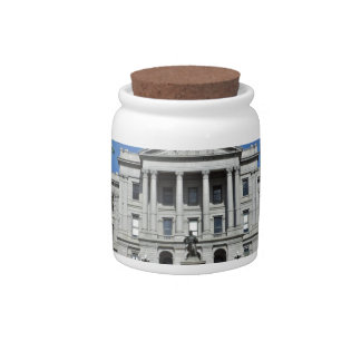 Colorado State Capitol Building Candy Jar