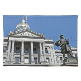 Colorado State Capitol Building Cloth Placemat
