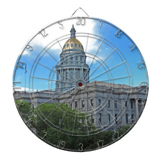 Colorado State Capitol Building Dartboard