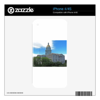 Colorado State Capitol Building Decals For The iPhone 4S