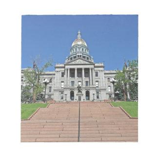Colorado State Capitol Building Memo Pad