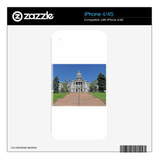 Colorado State Capitol Building Skins For iPhone 4S