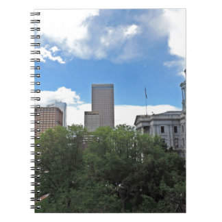 Colorado State Capitol Building with Skyscapers Notebooks