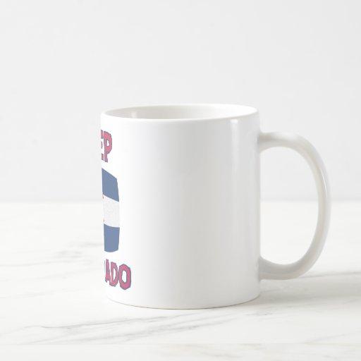 Colorado state designs coffee mugs
