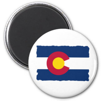 Colorado State Flag 2 Inch Round Magnet