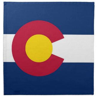 Colorado State Flag American MoJo Napkin