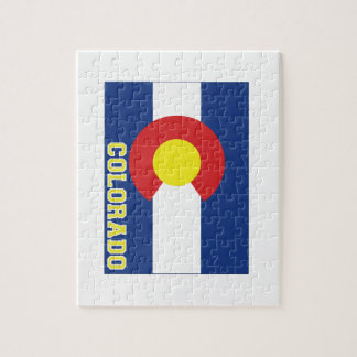 Colorado State Flag and Map Puzzles