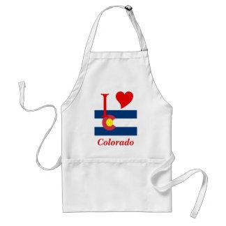 Colorado State Flag Aprons