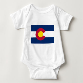 Colorado State Flag Baby Bodysuit