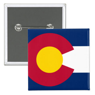 Colorado State Flag Button