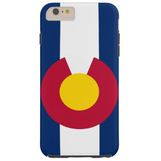 Colorado State Flag Tough iPhone 6 Plus Case