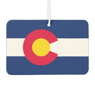 Colorado State Flag Design Car Air Freshener