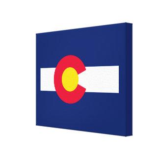 Colorado State Flag Design Decor
