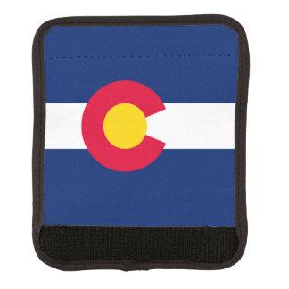 Colorado State Flag Design Decor Luggage Handle Wrap