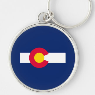 Colorado State Flag Design Keychain