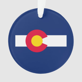 Colorado State Flag Design Ornament