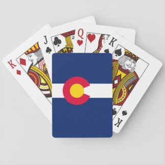 Colorado State Flag Design Playing Cards