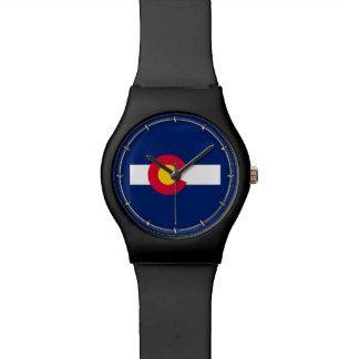 Colorado State Flag Design Wrist Watch