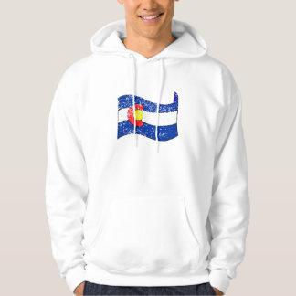 Colorado State Flag (Distressed) Hoodie