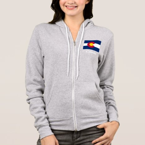 Colorado State Flag Fleece Jacket