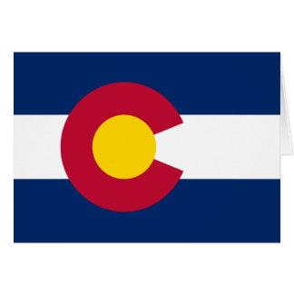 Colorado State Flag Greeting Card