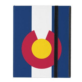 Colorado State Flag iPad Cover
