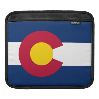 Colorado State Flag iPad Sleeve