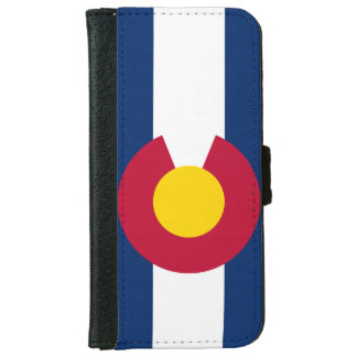 Colorado State Flag iPhone 6/6s Wallet Case
