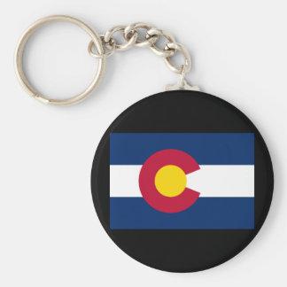 Colorado State Flag Keychain