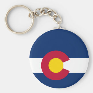 Colorado State Flag Keychain