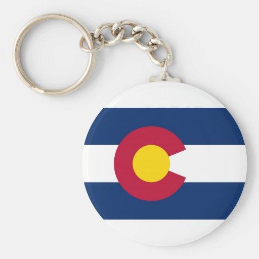 Colorado State Flag Keychains
