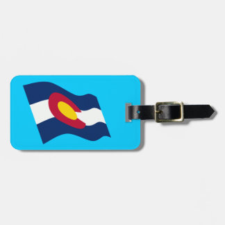 Colorado State Flag Luggage Tag
