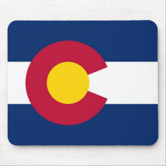 Colorado State Flag Mouse Pad