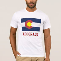 COLORADO: State Flag of Colorado T-Shirt