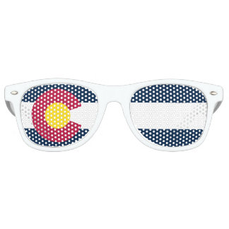 Colorado State Flag Party Glasses